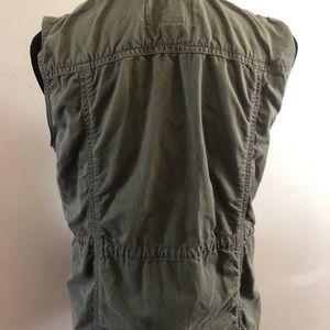 J. Crew Jackets & Coats - J.Crew Twill Utility Vest